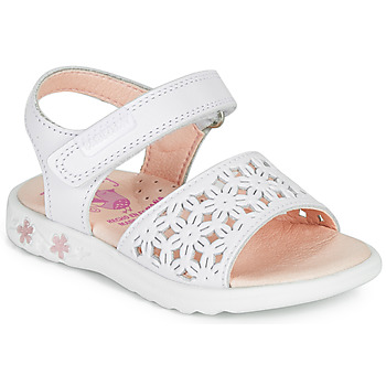 Παπούτσια Κορίτσι Σανδάλια / Πέδιλα Pablosky DROSSI Άσπρο / Ροζ