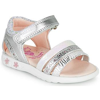 Παπούτσια Κορίτσι Σανδάλια / Πέδιλα Pablosky ELLO Silver