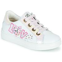 Παπούτσια Κορίτσι Χαμηλά Sneakers Pablosky AMME Άσπρο / Ροζ