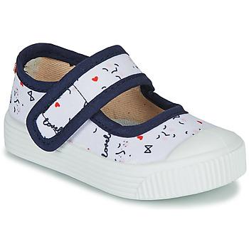 Παπούτσια Παιδί Μπαλαρίνες Citrouille et Compagnie MY LOVELY BABIES Άσπρο / Imprimé