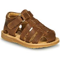 Παπούτσια Αγόρι Σανδάλια / Πέδιλα Citrouille et Compagnie MISTIGRI Camel