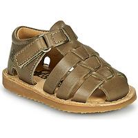 Παπούτσια Αγόρι Σανδάλια / Πέδιλα Citrouille et Compagnie MISTIGRI Kaki