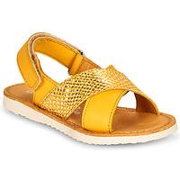 Παπούτσια Κορίτσι Σανδάλια / Πέδιλα Citrouille et Compagnie OVETTE Yellow