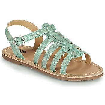 Παπούτσια Κορίτσι Σανδάλια / Πέδιλα Citrouille et Compagnie MAYANA Turquoise