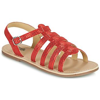 Παπούτσια Κορίτσι Σανδάλια / Πέδιλα Citrouille et Compagnie MAYANA Red