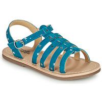 Παπούτσια Κορίτσι Σανδάλια / Πέδιλα Citrouille et Compagnie MAYANA Μπλέ