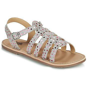 Παπούτσια Κορίτσι Σανδάλια / Πέδιλα Citrouille et Compagnie MAYANA Grey