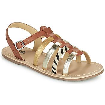 Παπούτσια Κορίτσι Σανδάλια / Πέδιλα Citrouille et Compagnie MAYANA Tan