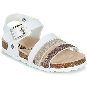 Παπούτσια Κορίτσι Σανδάλια / Πέδιλα Citrouille et Compagnie OMAYA Άσπρο