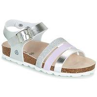 Παπούτσια Κορίτσι Σανδάλια / Πέδιλα Citrouille et Compagnie OMAYA Argenté