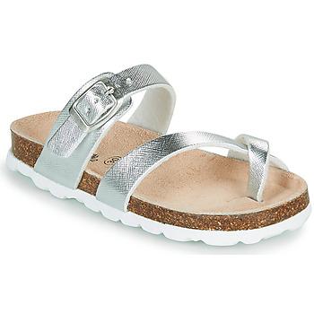 Παπούτσια Κορίτσι Τσόκαρα Citrouille et Compagnie OMILA Argenté