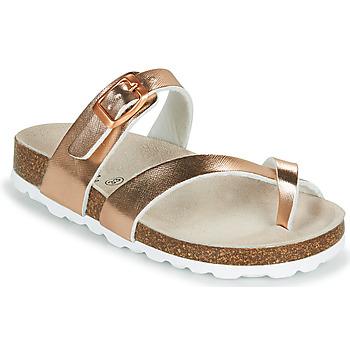 Παπούτσια Κορίτσι Τσόκαρα Citrouille et Compagnie OMILA Ροζ / Gold