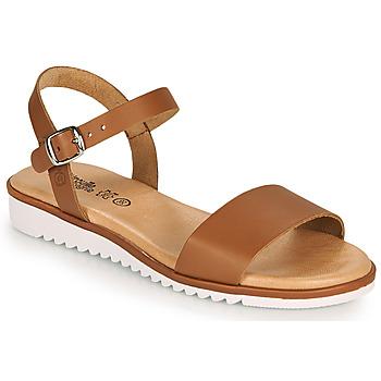 Παπούτσια Κορίτσι Σανδάλια / Πέδιλα Citrouille et Compagnie GLAPOTTI Camel