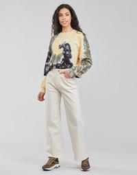 Υφασμάτινα Γυναίκα Τζιν σε ίσια γραμμή Pepe jeans LEXA SKY HIGH Άσπρο / Wi5