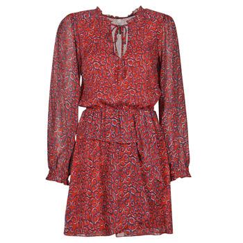 Υφασμάτινα Γυναίκα Κοντά Φορέματα Pepe jeans LULIS Red / Μπλέ
