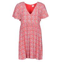 Υφασμάτινα Γυναίκα Κοντά Φορέματα Pepe jeans CAROLINA Red / Μπλέ
