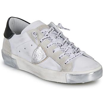 Παπούτσια Γυναίκα Χαμηλά Sneakers Philippe Model PARIS Άσπρο