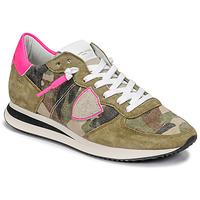 Παπούτσια Γυναίκα Χαμηλά Sneakers Philippe Model TROPEZ X Camouflage