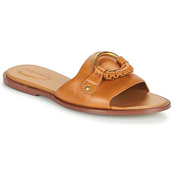 Παπούτσια Γυναίκα Τσόκαρα See by Chloé HANA SB3305 Cognac