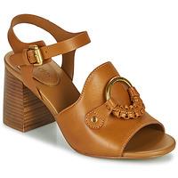 Παπούτσια Γυναίκα Σανδάλια / Πέδιλα See by Chloé HANA SB3406 Cognac