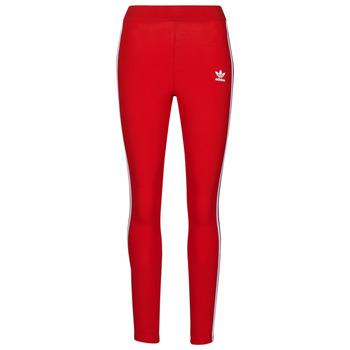 Υφασμάτινα Γυναίκα Κολάν adidas Originals 3 STR TIGHT Red