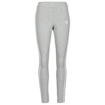 Υφασμάτινα Γυναίκα Κολάν adidas Originals 3 STRIPES TIGHT Grey