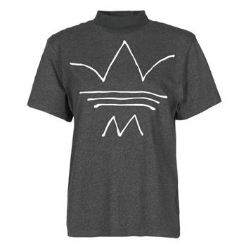Υφασμάτινα Γυναίκα T-shirt με κοντά μανίκια adidas Originals TEE Black