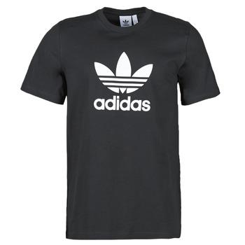 Υφασμάτινα Άνδρας T-shirt με κοντά μανίκια adidas Originals TREFOIL T-SHIRT Black