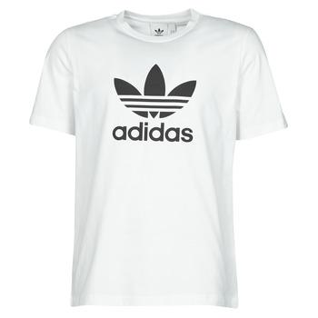 Υφασμάτινα Άνδρας T-shirt με κοντά μανίκια adidas Originals TREFOIL T-SHIRT Άσπρο