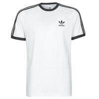 Υφασμάτινα Άνδρας T-shirt με κοντά μανίκια adidas Originals 3-STRIPES TEE Άσπρο