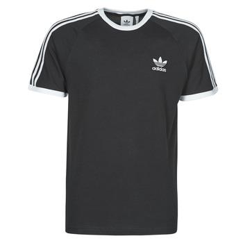 Υφασμάτινα Άνδρας T-shirt με κοντά μανίκια adidas Originals 3-STRIPES TEE Black