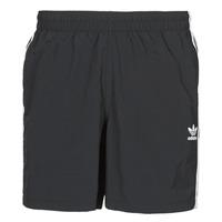 Υφασμάτινα Άνδρας Μαγιώ / shorts για την παραλία adidas Originals 3-STRIPE SWIMS Black