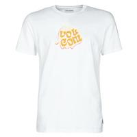 Υφασμάτινα Άνδρας T-shirt με κοντά μανίκια Volcom M. LOEFFLER FA SS Άσπρο