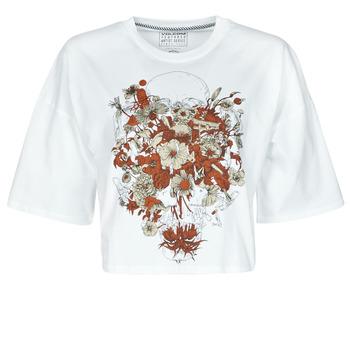 Υφασμάτινα Γυναίκα T-shirt με κοντά μανίκια Volcom FA FORTIFEM TEE Άσπρο