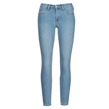 Υφασμάτινα Γυναίκα Skinny jeans Lee SCARLETT Μπλέ