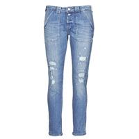 Υφασμάτινα Γυναίκα Boyfriend jeans Le Temps des Cerises CARA Μπλέ
