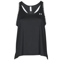 Υφασμάτινα Γυναίκα Αμάνικα / T-shirts χωρίς μανίκια Under Armour UA KNOCKOUT TANK Black