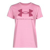 Υφασμάτινα Γυναίκα T-shirt με κοντά μανίκια Under Armour LIVE SPORTSTYLE GRAPHIC SSC Ροζ