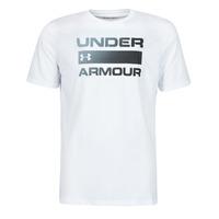 Υφασμάτινα Άνδρας T-shirt με κοντά μανίκια Under Armour UA TEAM ISSUE WORDMARK SS Άσπρο