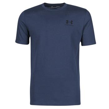 Υφασμάτινα Άνδρας T-shirt με κοντά μανίκια Under Armour UA SPORTSTYLE LC SS Μπλέ