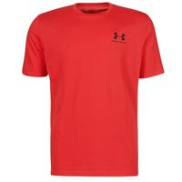 Υφασμάτινα Άνδρας T-shirt με κοντά μανίκια Under Armour UA SPORTSTYLE LC SS Red