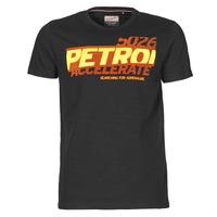 Υφασμάτινα Άνδρας T-shirt με κοντά μανίκια Petrol Industries T-SHIRT SS R-NECK F Black