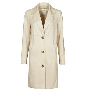 Υφασμάτινα Γυναίκα Παλτό Esprit SUEDE COAT Beige