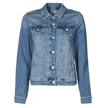 Υφασμάτινα Γυναίκα Τζιν Μπουφάν/Jacket  Esprit JOGGER JACKET Μπλέ