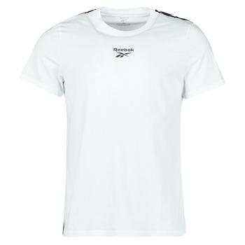 Υφασμάτινα Άνδρας T-shirt με κοντά μανίκια Reebok Classic TE TAPE TEE Άσπρο