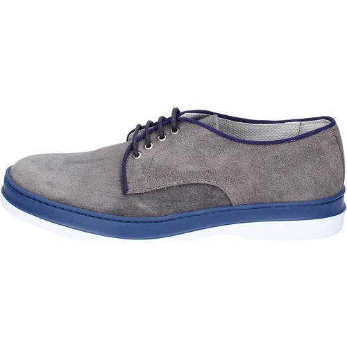 Παπούτσια Άνδρας Derby & Richelieu Viva Κλασσικός BK919 Γκρί