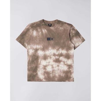 Υφασμάτινα Άνδρας T-shirt με κοντά μανίκια Edwin T-shirt  Synergy marron/blanc