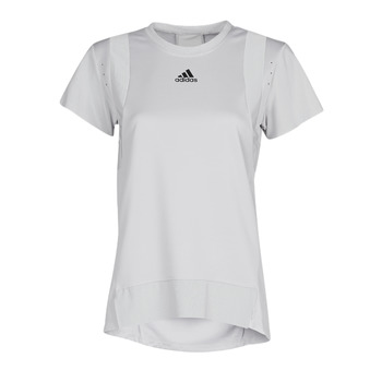 Υφασμάτινα Γυναίκα T-shirt με κοντά μανίκια adidas Performance TRNG TEE H.RDY Grey