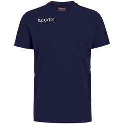 Υφασμάτινα Αγόρι T-shirts & Μπλούζες Kappa T-shirt enfant  Tee bleu royal