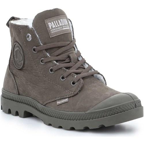 Παπούτσια Γυναίκα Μπότες Palladium Manufacture Pampa HI Zip WL 95982-213-M brown